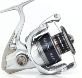 The Shimano Stradic FK spinning reel is a great choice