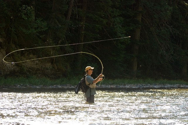 fly fishing can be mystical